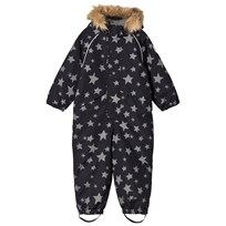 Ticket to heaven Snowsuit Othello With Detachable Hood Allover Jet Black Stars Jet Black Stars