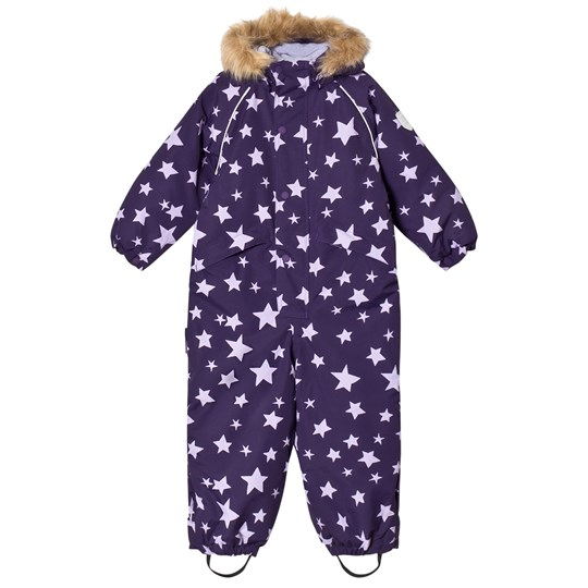 Ticket to heaven Snowsuit Othello With Detachable Hood Allover Parachute Purple Stars Parachute Purple Stars