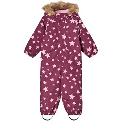 Ticket to heaven Snowsuit Othello With Detachable Hood Allover Amaranth Stars