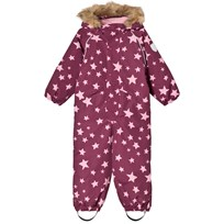 Ticket to heaven Snowsuit Othello With Detachable Hood Allover Amaranth Stars Amaranth Stars