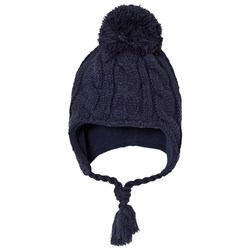 Ticket to heaven Navy Knitted Hat