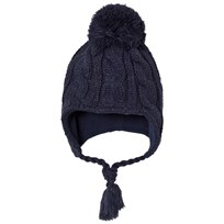 Ticket to heaven Navy Knitted Hat Marinblå