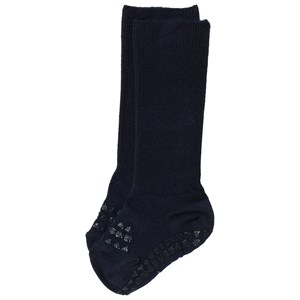 Image of GoBabyGo Bamboo Non-Slip Socks Dark Blue 17-19 (6-12 mdr) (3125305301)