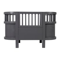 sebra Dolls Bed Grey Musta