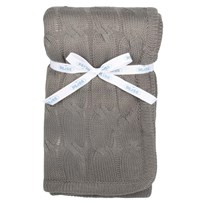 Blanket Teddy Darkgrey