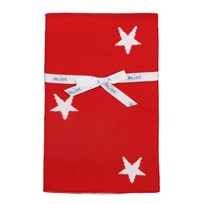 Blanket Basic Star Red