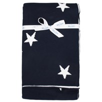 Blanket Basic Star Navy Blue