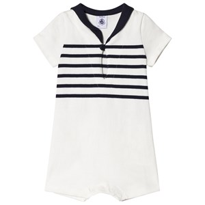Image of Petit Bateau Baby Romper Striped 3 Months (2917218633)