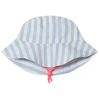 Billieblush Blue and White Strip Sun Hat N48