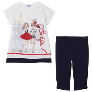 Image of Mayoral Navy Best Friends Tunic and Legging Set 2 years (2917221257)