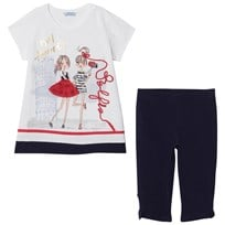 Mayoral Navy Best Friends Tunic and Legging Set 19