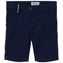 Mayoral Navy Belted Stretch Chino Shorts 34