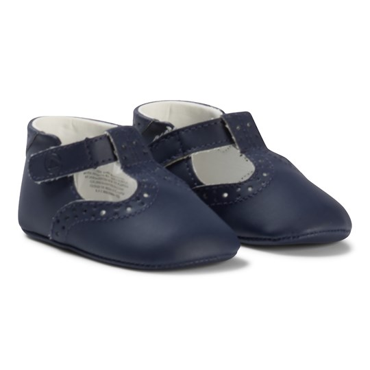 Mayoral Navy Brogue Crib Shoes 40