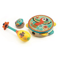 Djeco Set With 3 Instruments Multi