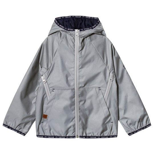 Timberland Silver Reflective Hooded Jacket Z40