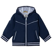 Timberland Navy Hooded Windbreaker 85T