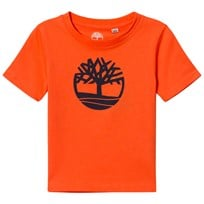 Timberland Orange Classic Tree Logo Tee 420