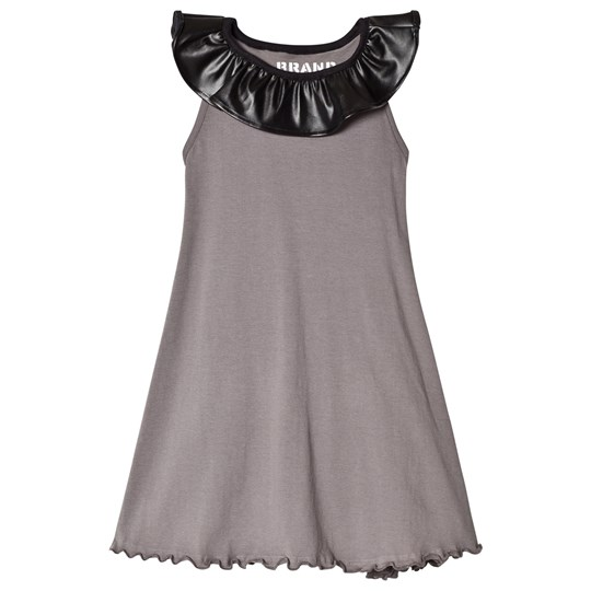 The BRAND Collar Dress Graphite Grey GRAPHITE GRAY