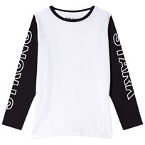 The BRAND Strong Tee Black/White Musta