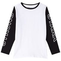 The BRAND Strong Tee Black/White Black