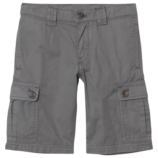 Dolce & Gabbana Grey Combat Shorts with Tape Branded Back Pocket N2613