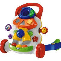 Chicco Baby Steps Activity Walker Hvit