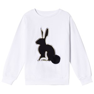 Image of The BRAND 3D Rabbit Sweatshirt White 104/110 cm (2918295189)