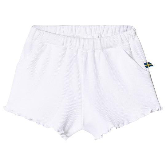 The BRAND Ribbet Shorts Hvit White