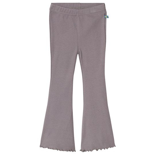 The BRAND Jazz Ribbed Pants Graphite Grey GRAPHITE GRAY