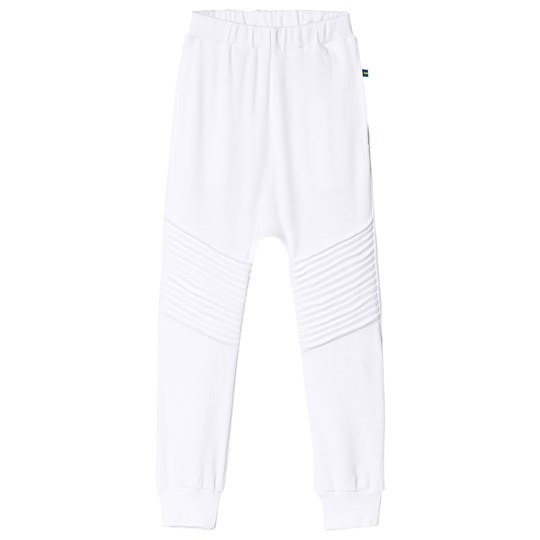The BRAND Skinny Rib Sweats White White