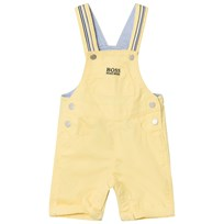 BOSS Yellow Twill Dungarees 528
