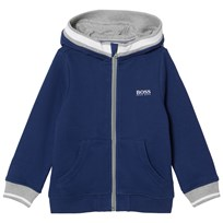 BOSS Blue Branded Hoody 828