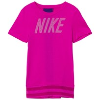 NIKE Hot Pink Nike Short Sleeve GX Top 531