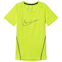 NIKE Volt Green Nike Short Sleeve Top 702