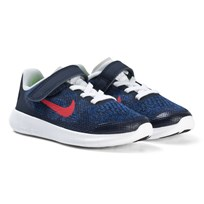 NIKE Navy Red Nike Free Pre School Shoes 405