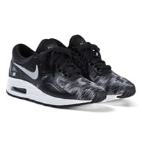 NIKE Black and Dark Grey White Nike Air Max Zero Shoes 007