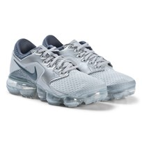 NIKE Grey and Silver Nike Air Vapor Max Running Shoes 006