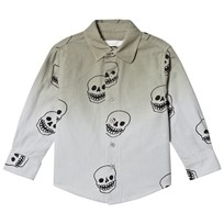 Stella McCartney Kids Grey Skull Print Samuel Shirt 2470