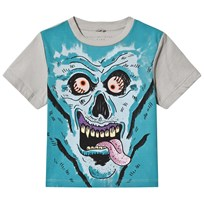 Stella McCartney Kids Monster Face Arrow Print T-shirt 3742