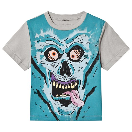 Stella McCartney Kids Monster Face Arrow Print Tee 3742