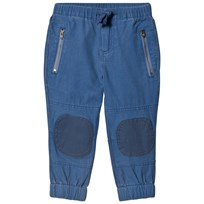 Stella McCartney Kids Blue Knee Patch Almond Trousers 4263