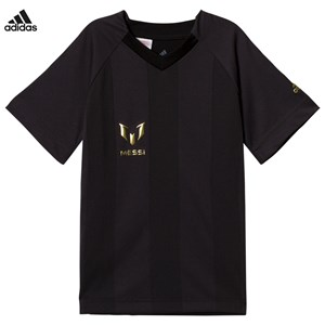 Image of adidas Performance Black and Grey Messi Top 4-5 years (2917219543)