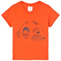 Carrément Beau Orange Sailor Print Tee 412
