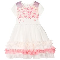 Billieblush White and Pink Tulle Party Dress 121