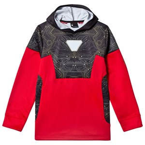 Image of Spyder Iron Man Marvel Riot Pullover Hoodie L (14-16 years) (2920301731)