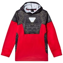 Spyder Iron Man Marvel Riot Pullover Hoodie 600 RED/ IRON MAN
