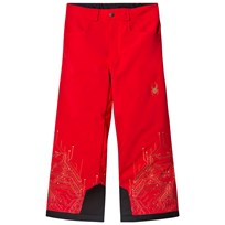 Spyder Iron Man Marvel Hero Junior Ski Pants 600 RED/ IRON MAN