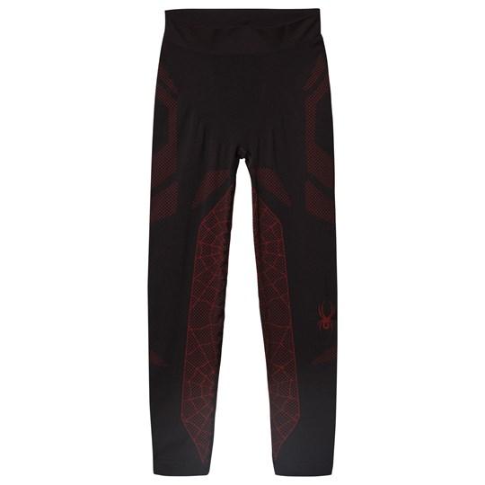 Spyder Black and Red Boys Racer Pant 001 BLK/RED
