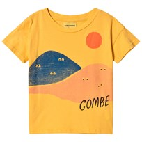Bobo Choses Mountains Short Sleeve T-Shirt Banana Banana