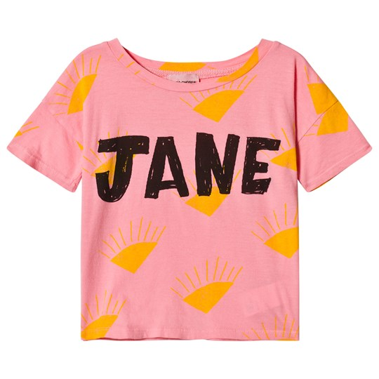 Bobo Choses Jane Short Sleeve T-Shirt Strawberry Ice Strawberry Ice